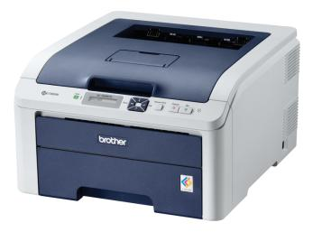 BROTHER HL 3040CN Colour Networkable Laser Printer -16ppm 250 Sh