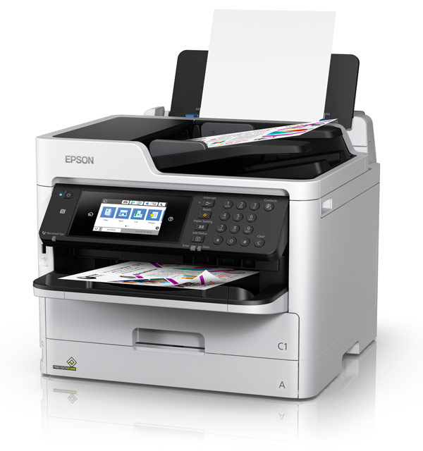 EPSON WF-C5790 Multifunction Printer - Print-Copy-Scan