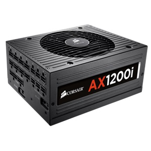 Corsair AX1200i 1200W Power Supply - Fully modular - 7-Year War
