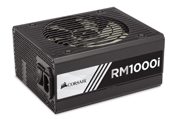 Corsair 1000W RMi 80+ Gold Fully Modular w/Corsair Link 135mm FA