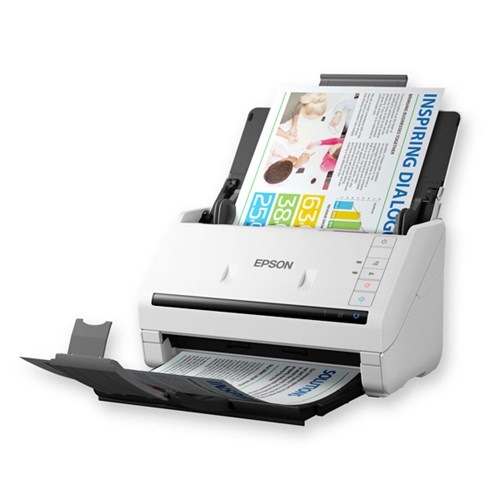 EPSON Workforce DS-570W, 35ppm/70ipm, Scan to Cloud/PDF, 50sht A