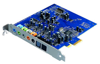 CREATIVE X-Fi Xtreme Audio Soundcard PCI-Express - Retail