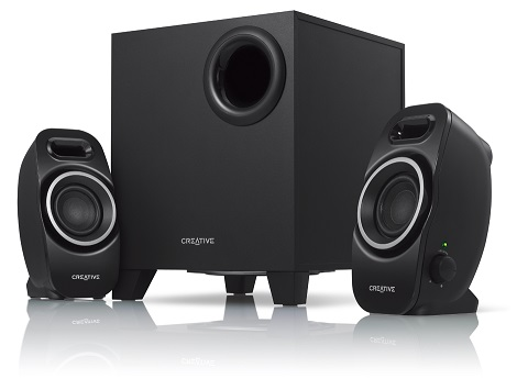 CREATIVE SBS-A250 2.1 Speaker System -Black -