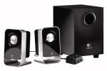 Logitech LS-21 2.1 Speakers - 2x 1W Satellites, 1x 4W Subwoofer