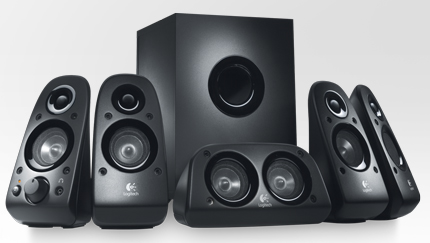 LOGITECH Z-506 5.1 75 Watts Stereo Surround Sound Speaker System