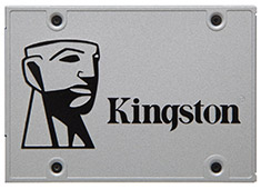 Kingston SUV400 240GB SSD - SATAIII 6Gb/s 540MB/s Read / 490MB/s