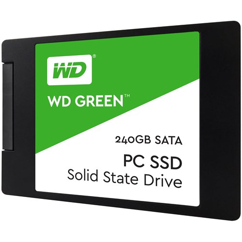 WD Green 3D NAND SSD, 2.5 Form Factor, SATA Interface, 480GB, Re