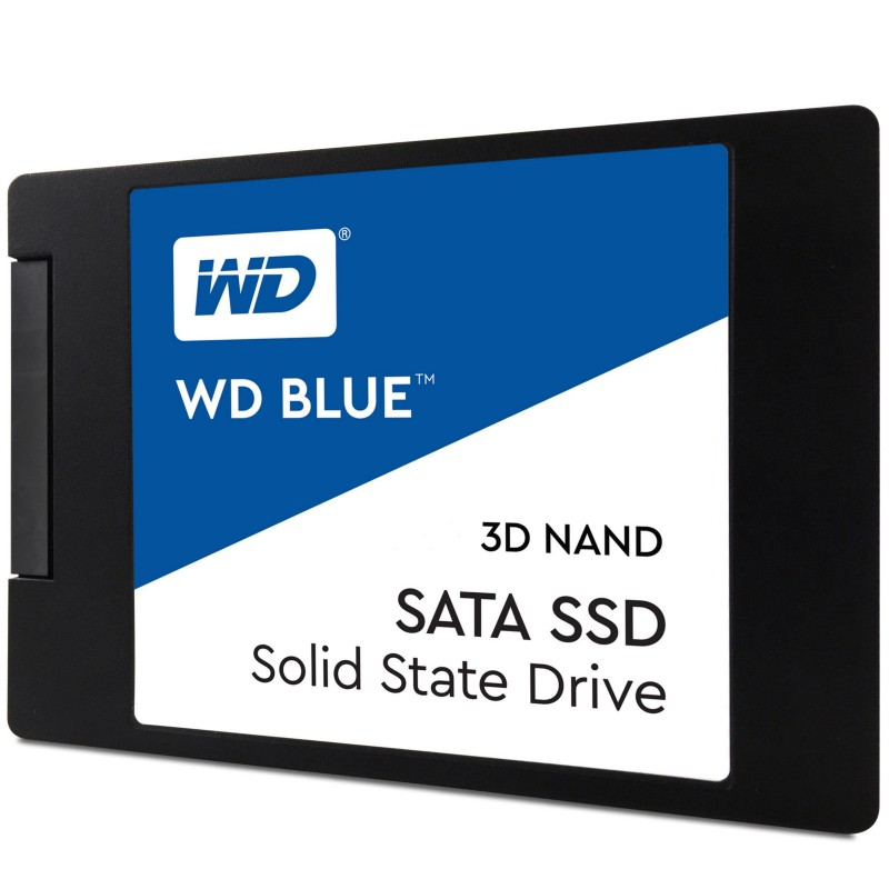 WD Blue 3D NAND SSD, 2.5 Form Factor, SATA Interface, 500GB, Rea