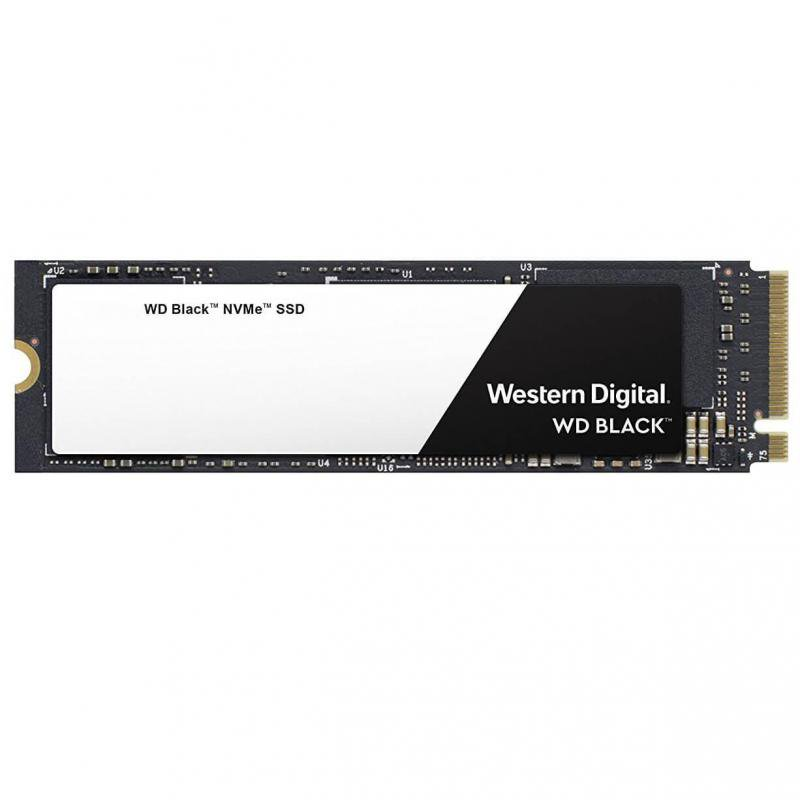 WD Black M2 NVMe 500GB, PCIe Gen3 8 Gb/s, up to 4 lanes, Form Fa