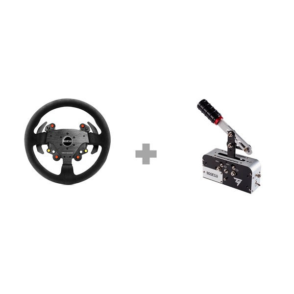 Thrustmaster TM Rally Race Gear Sparco Mod Bundle