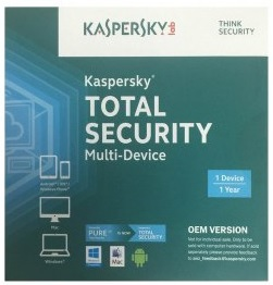 Kaspersky - Total Security (OEM 1 Device - 1 Year)