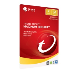 TRENDMICRO Maximum Security 2017 OEM 2 Devices Pc/Mac/Andriod, 1
