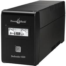 POWERSHIELD Defender 650 Line Interactive UPS - 2 Aust. Outlets