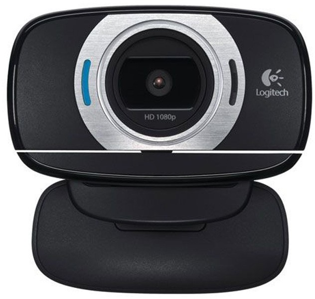 Logitech C615 8MP Webcam Autofocus/1080p/Pan/Tilt/Zoom Fold-and-
